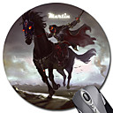 Personalizada del regalo del modelo Cavalier Gaming Optical Ronda Mouse Pad (18x18cm)