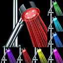 ABS Water Flow Power Generation Color Changing LED Hand Shower