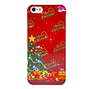 Christmas Series Green Christmas Tree and Gifts Pattern Hard Case for iPhone 5/5S