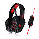 Somic G927V2012 Stereo Gaming USB 7.1 Sound Channel Over-Ear Headphone with Mic and Remote for PC