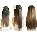 Buy 20 Inch Clip Synthetic Light Brown Straight Hair Extensions 2 Clips