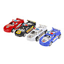 4PCS Farge simulering Police Car Toy