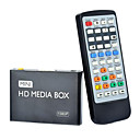 08H 1080P Multi-Media Player w/ HDMI / USB / AV - Black