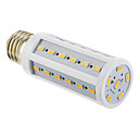 E26/E27 9W 42 SMD 5730 810 LM Warm White T LED Corn Lights AC 220-240 V