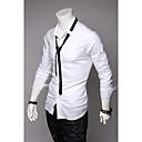 Pánská kravata Zahrnout módní košile s dlouhým rukávem