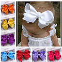 Fabric Bow Barrettes For Kid'S(Random Color)