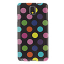 Colorful Spots Pattern Soft Plastic Back Cover Case for Samsung Galaxy Note3 N9000