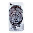 Vivid modello Lion Head ABS posteriore Case for iPhone 4/4S