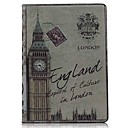 Retro Big Ben Pattern PU Leather Case with Stand for iPad Air / iPad 5