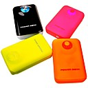 8800mAh Steamed Roll External Battery for Samsung iPhone and Others(30pin, 8pin,2pin, Micro USB)