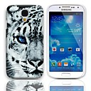Tiger Pattern Hard Case with 3-Pack Screen Protectors for Samsung Galaxy S4 mini I9190