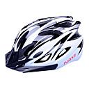 FJQXZ EPS + PC Black and White integrálně tvarovaný na kole helmu (18 Větrací otvory)
