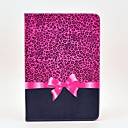 Leopard Bow Pattern Full Body Case with Stand for Samsung Galaxy Tab 2 10.1 P5100/P5110