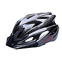FJQXZ EPS+PC Black Integrally-molded Cycling Helmet(18 Vents)