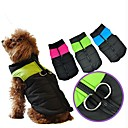 Dog Coats/Jacket/Harness-XS/S/M/L/XL-Winter-Pink/Blue/Green-Waterproof/Stylish