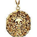 Buy Antique Gold Skull Pendant Necklace Men Fashion Vintage Jewelry Christmas Gifts