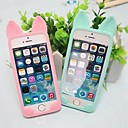 Cute Cat Silicon Soft Case for iPhone 5/5S(Assorted Colors)