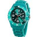 Time100 Lasten ympäristönsuojelulain Digital Trendikäs värikäs Pyörivä silikoni hihna Jelly Watch