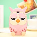 Cute Owl Silicone Cases for Samsung Galaxy S4 i9500 (Assorted Colors)
