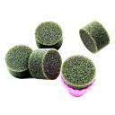 1PCS Manikyr Sponge Nail Art Stamper Tools med 5PCS Sponge Nail for Gradient Color Nail Art
