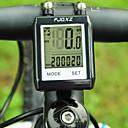 FJQXZ Αδιάβροχη Wireless LCD Μαύρο ποδηλάτων Κοντέρ / Χρονόμετρο