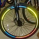 Bike Wheel Rims Luminous Reflective Stickers(Assortted Colors)