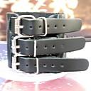 Men's Multilayer Triplex Row Buckle Leather Bracelet