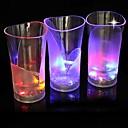 comodo el bar dedicado emisores de luz LED florero de cristal de luz nocturna