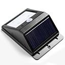 4 heldere LED Wireless Solar Powered Motion Sensor Wandlamp