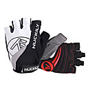 Buy NUCKILY® Sports Gloves Cycling Bike Anti-skidding / Breathable Reflective Fingerless Gloves/Bike