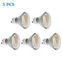 5 Stück Spot Lampen GU10 3 W 260 LM 3000 K 44 SMD 3020 Warmes Weiß AC 220-240 V