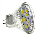 GU4(MR11) 3W 9 SMD 5730 250 LM Cool White MR11 Decorative LED Spotlight DC 12 V