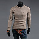 Men's Fashion Slim Round Neck Long Sleeve Sweater