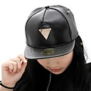 Unisex Leather Baseball Cap , Casual All Seasons