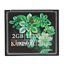 Kingston 2GB elite pro 133x Compact Flash CF-minneskort