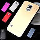 df lujo color sólido de alta calidad de aluminio pulido estuche rígido para Samsung i9600 s5 (color clasificado)