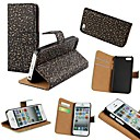 domstol stil PU lær full body sak med stativ og kortspor for iPhone5 / 5s (assorterte farger)