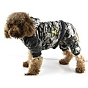 애완 동물 개를위한 후드 코트 패션 개성 위장 애완 동물 (모듬 색상, 크기)
