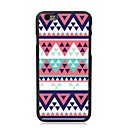 Elonbo Beautiful Triangle Plastic Hard Back Cover for iPhone 6 Plus