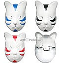 Buy Mask Inspired Naruto Cosplay Anime Accessories Black / Red Blue PVC Male Female