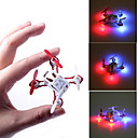 2.4GHz 4 Channel Remote Control Toys VELOCITY Incredible Nano-Sized 4-axis RC Quadcopter Mini RC Helicopter with LED Light