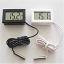 4,7 * 2,8 * 1.4cm LCD akvaario jääkaappi elektroninen digitaalinen näyttö lämpömittari.