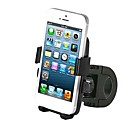 BY01 360 Degree Rotatable Motorcycle Mount Holder for Cell Phone + More - Black