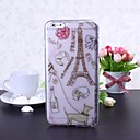 France Eiffel Tower Pattern TPU Soft Case for iPhone 6 Plus