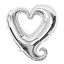 18 pouces jour de ballon de fête d'anniversaire de coeur rouge aluminium membrane mariage valentine