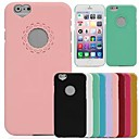 DSD® Lovely Hollow Out Heart And Flower Cover for iPhone 6 (Assorted Colors)