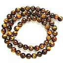 (1Pc) Round Tiger's Eye Beads Yellow