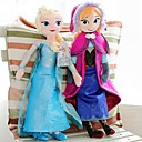 bevroren schitteren prinses Elsa en annastuffed zachte pluche pop anime action figures model speelgoed (2 stuks 21 inch)