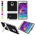 ENKAY Prptective TPU Back Case with Stand for Samsung Galaxy Note 4 N9100