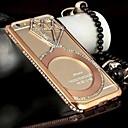 מקרה shengo ™ ריינסטון גביש יוקרה בסגנון משובץ פגוש המתכת לiphone6